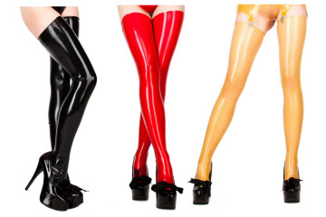 Latex stockings from just £27.99 a pair